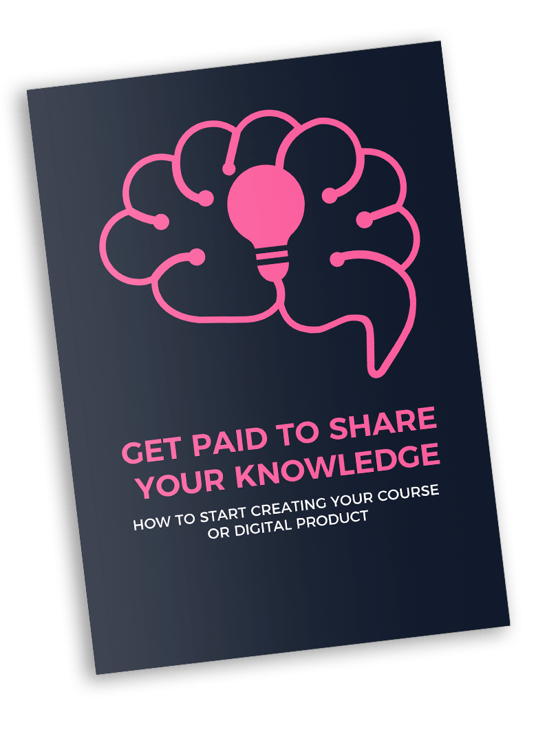 get paid to share your knowledge ebook image